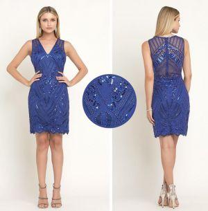 Curto de tule bordado geométrico - ref: AD04 - R$ 599,90